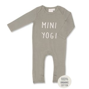Mini Yogi Jumpsuit. 100% organic cotton